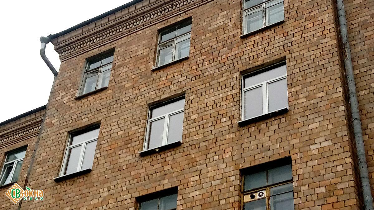 Деревянные окна «Эконом» в сталинский дом в Останкино