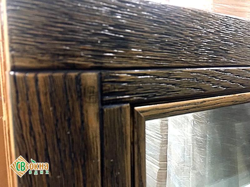 Деревянные окна под старину