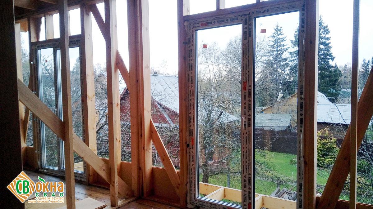 Окна и двери REHAU Intelio в Солнечногорском районе
