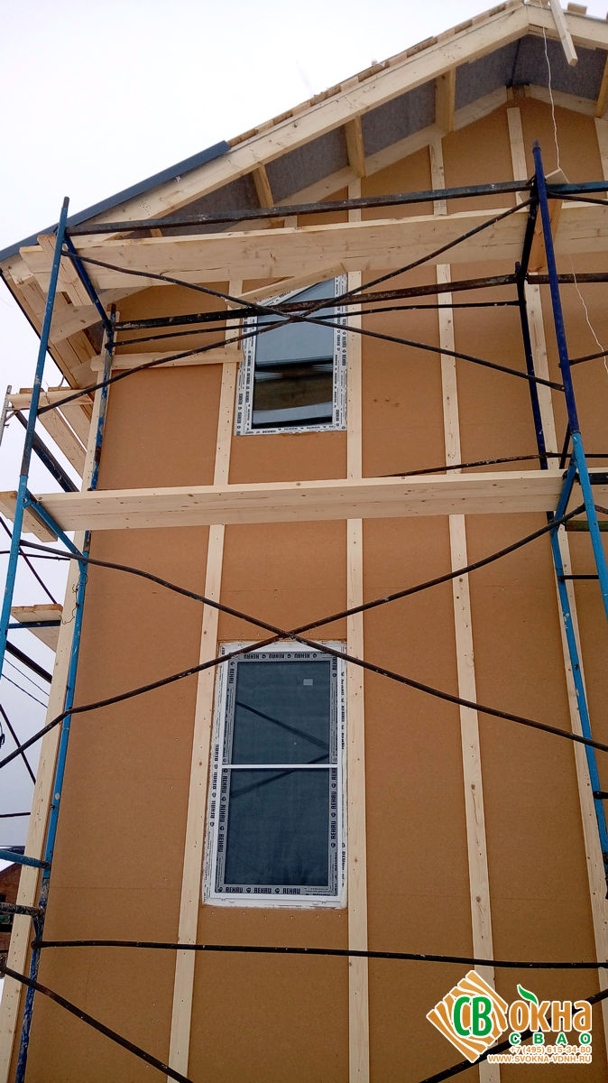 Пластиковые окна REHAU GRAZIO в Сурмино