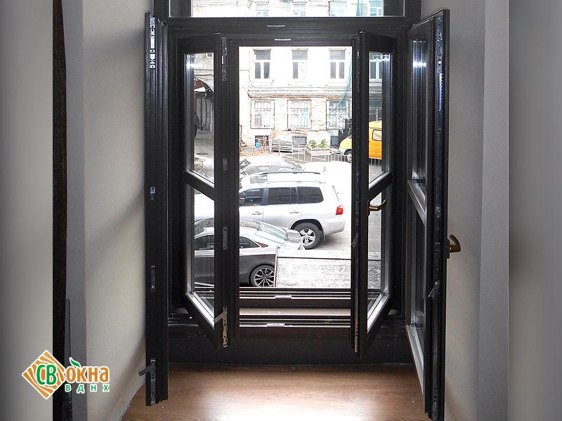 Штульповые деревянные окна и двери