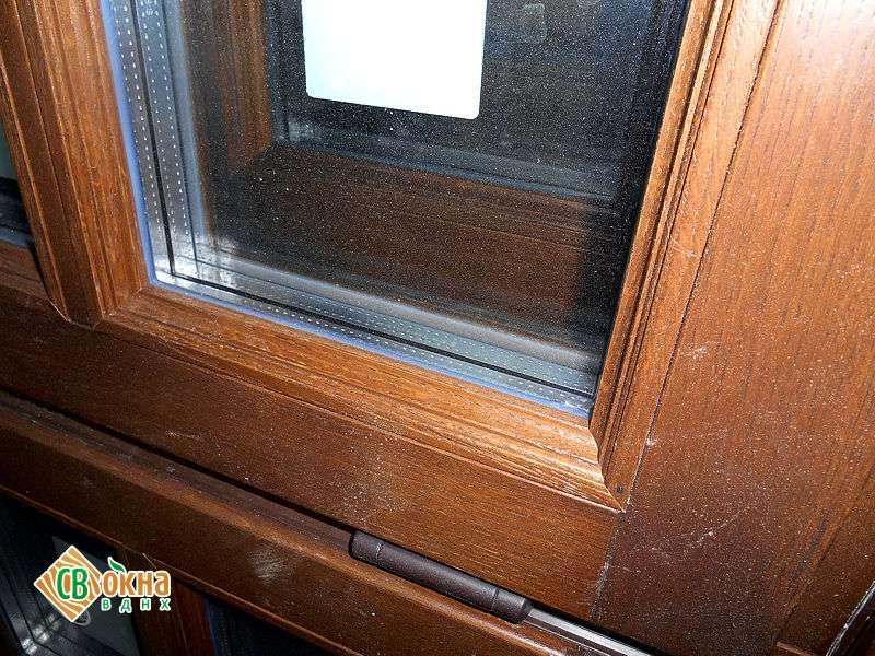 Дешевые окна из дерева в стандартные дома П-3