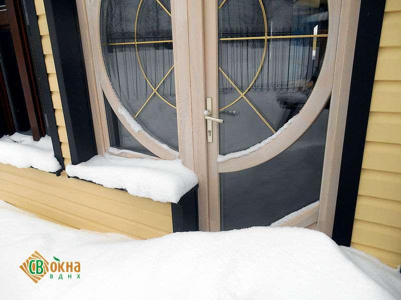 Окна эконом из дерева в сталинские дома